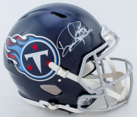 Derrick Henry Signed Titans Full-Size Authentic On-Field Speed Helmet (Beckett COA) at PristineAuction.com