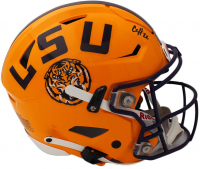 Clyde Edwards-Helaire Signed LSU Tigers Full-Size Authentic On-Field SpeedFlex Helmet (Radtke Hologram) at PristineAuction.com