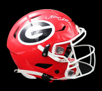 Nick Chubb Signed Georgia Bulldogs Full-Size Authentic On-Field SpeedFlex Helmet (Radtke COA) at PristineAuction.com