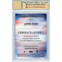 Aaron Judge 2017 Topps Chrome Freshman Flash Autographs #FFAAJ #21/99 (BGS 9.5) at PristineAuction.com