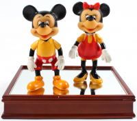 Vintage Disney Mickey Mouse & Minnie Mouse Figures at PristineAuction.com