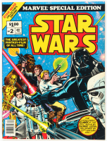 "Vintage 10x13.5 1977 ""Star Wars"" Issue #2 Special Edition Marvel Comic Book at PristineAuction.com"