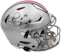 Ezekiel Elliott Signed Ohio State Buckeyes Full-Size Authentic On-Field SpeedFlex Helmet (Radtke COA) at PristineAuction.com