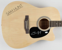 "Sam Hunt Signed 41"" Acoustic Guitar (JSA COA) at PristineAuction.com"