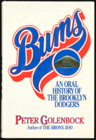 """Duke Snider Signed """"Bums: An Oral History Of The Brooklyn Dodgers"""" Hard Cover Book Inscribed """"Best Wishes"""" (PSA COA) at PristineAuction.com"""