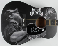 "Luke Combs Signed 41"" Acoustic Guitar (JSA COA) at PristineAuction.com"