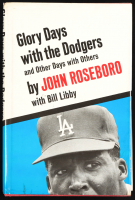 """John Roseboro Signed """"Glory Days with the Dodgers, and Other Days with Others"""" Hard Cover Book (PSA COA) at PristineAuction.com"""