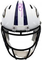 Earl Thomas Signed Ravens Full-Size Matte White Speed Helmet (Radtke COA) at PristineAuction.com