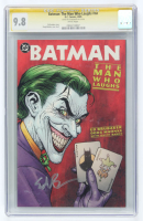 "Ed Brubaker Signed 2005 ""Batman: The Man Who Laughs"" Issue #NNO DC Comic Book (CGC 9.8) at PristineAuction.com"