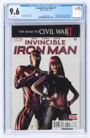 """""""The Invicible Iron Man"""" Issue #7 Marvel Comic Book (CGC 9.6) at PristineAuction.com"""