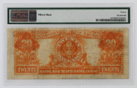 1922 $20 Twenty-Dollar U.S. Gold Certificate Large-Size Bank Note (PMG 20) at PristineAuction.com