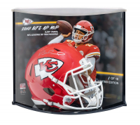 Patrick Mahomes II Signed Chiefs LE Authentic On-Field Speed Helmet with Custom Curve Display (Steiner COA) at PristineAuction.com