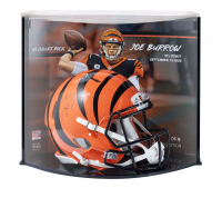 Joe Burrow Signed Bengals LE Authentic On-Field Speed Helmet with Custom Curve Display (Fanatics Hologram) at PristineAuction.com