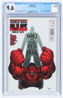 """Hulk"" Issue #23 Marvel Comic Book (CGC 9.6) at PristineAuction.com"