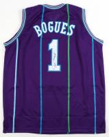 Muggsy Bogues Signed Jersey (JSA COA) at PristineAuction.com