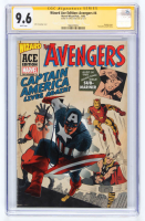 "Chris Evans Signed 2002 ""The Avengers: Wizard Ace Edition"" #4 Marvel Comic Book (CGC 9.6) at PristineAuction.com"