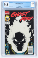 "1991 ""Ghost Rider"" Issue #15 Marvel Comic Book (CGC 9.6) at PristineAuction.com"