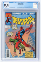 "1997 ""Deadpool"" Issue #11 Marvel Comic Book (CGC 9.4) at PristineAuction.com"