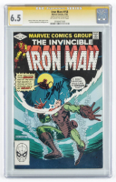 "Bob Layton Signed 1982 ""Iron Man"" Issue #158 Marvel Comic Book (CGC 6.5) at PristineAuction.com"