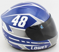 Jimmie Johnson Signed NASCAR Lowe's Full-Size Helmet (JSA COA) at PristineAuction.com