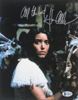 """Karen Allen Signed 8x10 Photo Inscribed """"All The Best"""" (Beckett COA) at PristineAuction.com"""