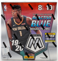 2020 Panini Mosaic Basketball Mega Box Card Box with (10) Packs at PristineAuction.com