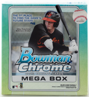 2020 Bowman Baseball Card Mega Box with (35) Cards at PristineAuction.com