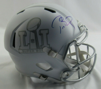 Tom Brady Signed Super Bowl 51 LE Matte White Full-Size Speed Helmet (Steiner Hologram & TriStar Hologram) at PristineAuction.com