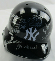 1998 LE Yankees Full-Size Batting Helmet Team-Signed by (25) with Derek Jeter, Mariano Rivera, Mike Stanton, Mel Stottlemyre, Joe Torre, Darryl Strawberry (MLB Hologram & Steiner Hologram) at PristineAuction.com