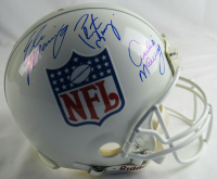 Archie Manning, Eli Manning & Peyton Manning Signed NFL Shield Full-Size Authentic On-Field Helmet (Steiner Hologram) at PristineAuction.com