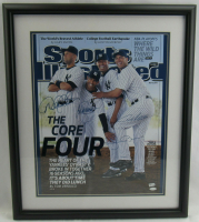 "Yankees ""The Core Four"" Dynasty 22x26 Custom Framed Photo Team-Signed by (4) with Derek Jeter, Andy Pettitte, Jorge Posada & Mariano Rivera (MLB Hologram & Steiner Hologram) at PristineAuction.com"