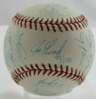 Yankees Official 2009 World Series Baseball Team-Signed by (28) with Derek Jeter, Mark Teixeira, Alex Rodriguez, Mariano Rivera, CC Sabathia (MLB Hologram & Steiner Hologram) at PristineAuction.com