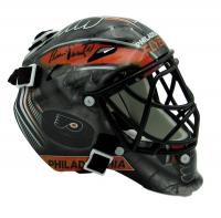 Bernie Parent Signed Flyers Mini Goalie Mask (JSA COA) at PristineAuction.com