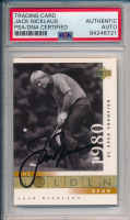 Jack Nicklaus Signed 2001 Upper Deck #121 (PSA Encapsulated) at PristineAuction.com