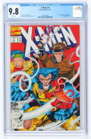 "1992 ""X-Men"" Issue #4 Marvel Comic Book (CGC 9.8) at PristineAuction.com"