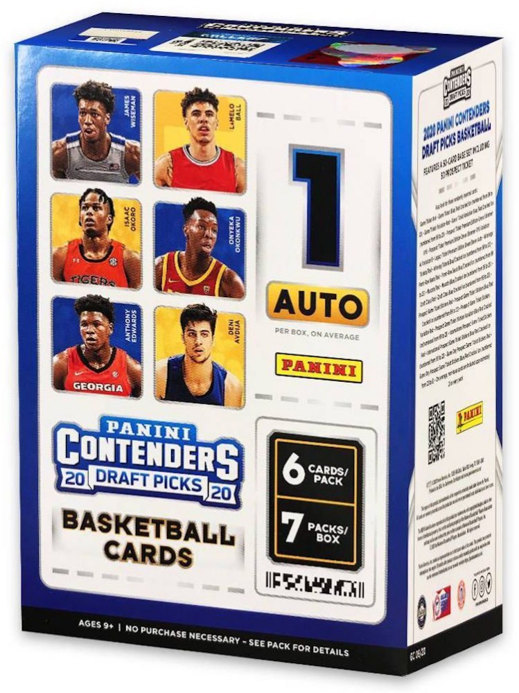 2020 Panini Contenders Draft Picks Basketball Card Blaster Box with (42) Cards at PristineAuction.com