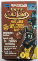 1999-00 Topps Gold Label Basketball Blaster Box with (38) Cards at PristineAuction.com