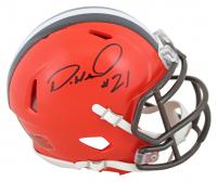 Denzel Ward Signed Browns Speed Mini Helmet (JSA COA) at PristineAuction.com