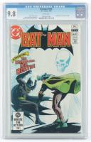 "1982 ""Batman"" Issue #345 DC Comics Comic Book (CGC 9.8) at PristineAuction.com"