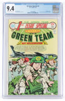 "1975 ""The Green Team"" Issue #2 D.C. Comic Book (CGC 9.4) at PristineAuction.com"