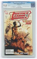 "2007 ""Justice League of America"" Issue #4 DC Comics Comic Book (CGC 9.8) at PristineAuction.com"