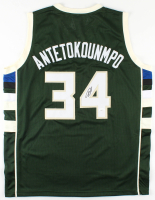 Giannis Antetokounmpo Signed Jersey (JSA COA) at PristineAuction.com