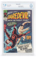 "1965 ""Daredevil"" Issue #7 Marvel Comic Book (CBCS 7.0) at PristineAuction.com"