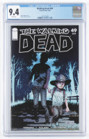 "2008 ""The Walking Dead"" Issue #49 Image Comics Comic Book (CGC 9.4) at PristineAuction.com"