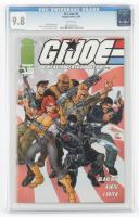 "2001 ""G.I. Joe"" Issue #1 Image Comics Comic Book (CGC 9.8) at PristineAuction.com"