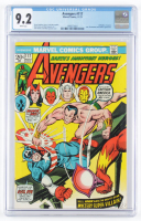 """1973 """"Avengers"""" Issue #117 Marvel Comic Book (CGC 9.2) at PristineAuction.com"""