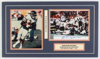"Walter Payton Signed Bears 14x24 Custom Matte Photo Display Inscribed ""Sweetness"" & ""16,726"" (JSA COA) at PristineAuction.com"