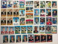 Lot of (70) Baseball Rookie Cards with #21 1982 Topps Cal Ripken Jr, 1978 Topps #36 Eddie Murray, 1984 Topps #8 Don Mattingly, 1975 #616 Jim Rice (SOP LOA) at PristineAuction.com