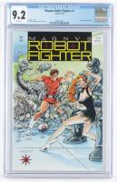 "1991 ""Magnus Robot Fighter"" Issue #1 Valiant Comic Book (CGC 9.2) at PristineAuction.com"