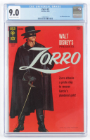 "1966 ""Zorro"" Issue #3 Gold Key Comic Book (CGC 9.0) at PristineAuction.com"